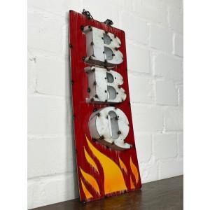 BBQ Flames XL 3D Schild