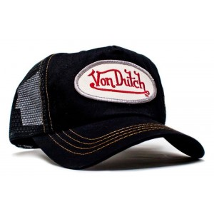 Von Dutch - Classic Black/Black Mesh Trucker Cap
