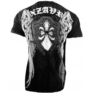 Xzavier - Black Phantom T-Shirt Back