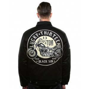 Lucky 13 - The Black Sin Jacke Back