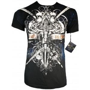 Xzavier - Blue Hero T-Shirt Front