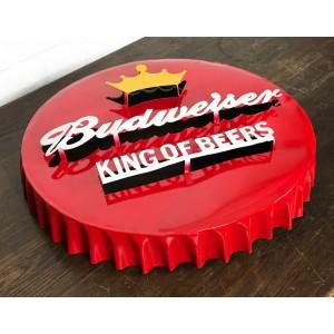 Budweiser XXL 3D Bottle Cap