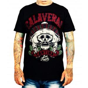 La Marca Del Diablo - Cantina Calaveras T-Shirt Front