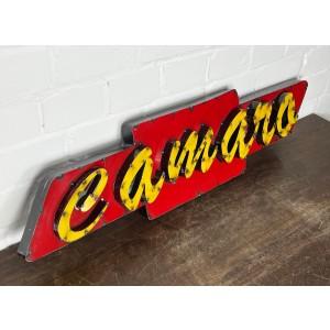 Chevrolet Camaro XXL 3D Schild