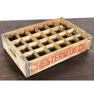 Original Soda Crate - Chesterman Co. 24er Getränkekiste