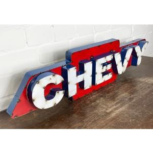 Chevrolet Chevy XXL 3D Schild