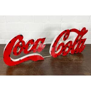 Coca Cola XXL 3D Schriftzug