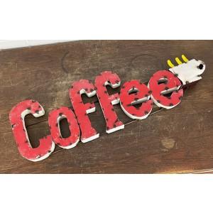 Coffee + Tasse XXL 3D Schild