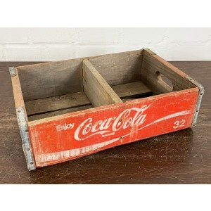 Original Soda Crate - Coca Cola Getränkekiste