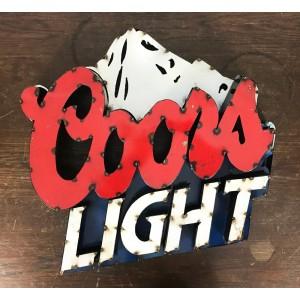 Coors Light XXL 3D Schild
