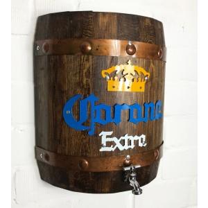 Corona Holzfass mit Zapfhahn