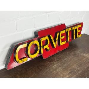 Chevrolet Corvette XXL 3D Schild