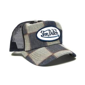 Von Dutch - Cube Denim Mesh Trucker Cap
