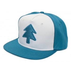 Retro Cap - Dipper Blue Pine Tree Snapback Cap