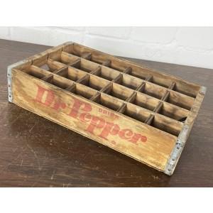 Original Soda Crate - Dr Pepper Getränkekiste