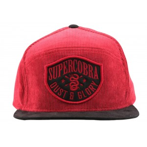 Supercobra Clothing Company - Dust & Glory Cord Snapback Cap Front