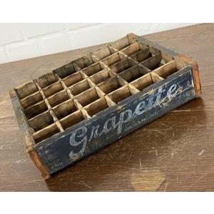 Original Soda Crate - Grapette Soda Getränkekiste