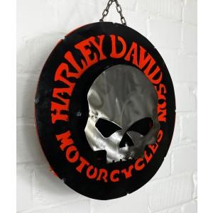 Harley Davidson Motorcycles Skull 3D Blechschild