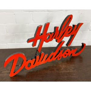 Harley Davidson XXL 3D Schriftzug