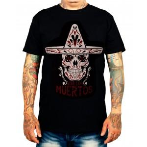 La Marca Del Diablo - Los Muertos T-Shirt Front