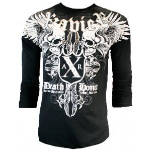 Xzavier - Horror Skull Longsleeve T-Shirt Front