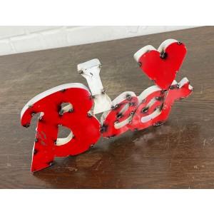 I LOVE Beer 3D Schild
