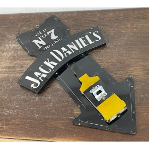 Jack Daniels 3D Schild mit Flaschenöffner
