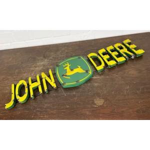 John Deere 3D Schriftzug