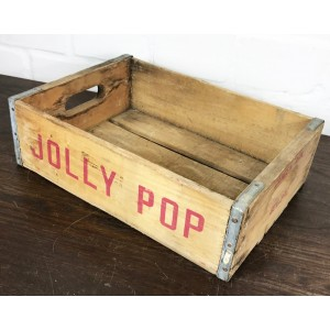 Original Soda Crate - Jolly Pop Getränkekiste