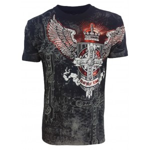 Konflic Clothing - Burning Wings T-Shirt