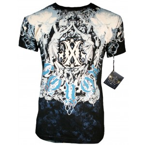 Xzavier - Liberty Skulls T-Shirt Front