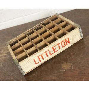 Original Soda Crate - Littleton 1975 Getränkekiste