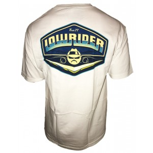 Lowrider Clothing - Blue Logo T-Shirt