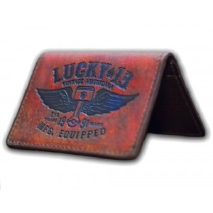 Lucky 13 - Winged Piston Card Holder
