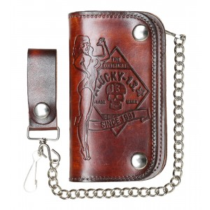 Lucky 13 - No Riders Leather Wallet