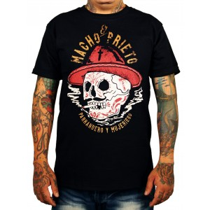 La Marca Del Diablo - Macho Prieto T-Shirt Front