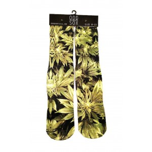ODD Sox - Marijuana Socken Front