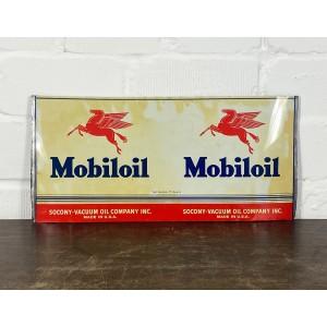 Original USA Schild - Mobiloil Öldosenblech