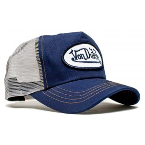 Von Dutch - Classic Navy/Gray Mesh Trucker Cap