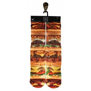 ODD Sox - Burger Stack Socken