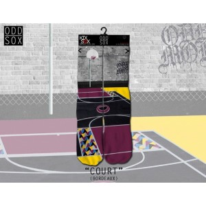 ODD Sox - Bordeaux Court Socken