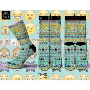 ODD Sox - Emoji (Teal) Socken