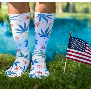 ODD Sox - Pot Sox (America) Socken