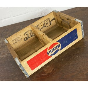 Original Soda Crate - Pepsi Cola 1L Getränkekiste