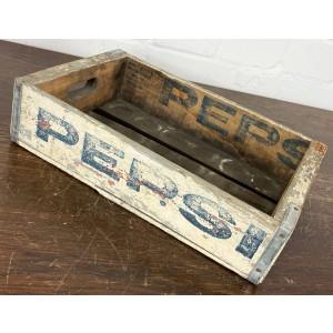 Original Soda Crate - Pepsi Cola Getränkekiste