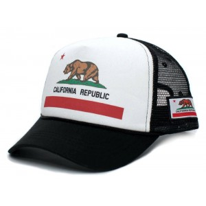 Retro Cap - California Republic Trucker Cap