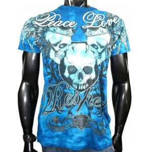 Xzavier - Respect Skulls T-Shirt Front