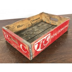 Original Soda Crate - Royal Crown Cola Getränkekiste