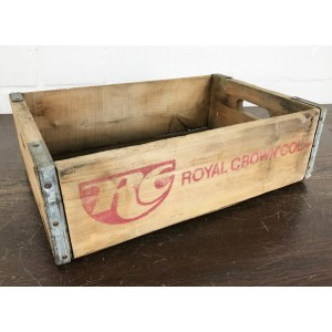 Original Soda Crate - Royal Crown Cola 1L Getränkekiste