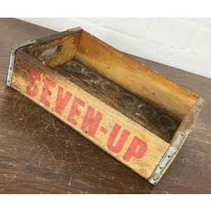 Original Soda Crate - Seven Up Getränkekiste